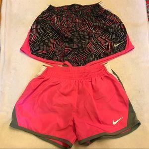 Bundle—2 pairs Nike dri-fit shorts.